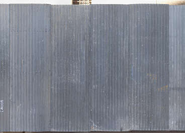 metal fence plate bare spain