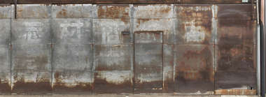 metal steel rusted bottom old weathered corrosion zinc plates plate