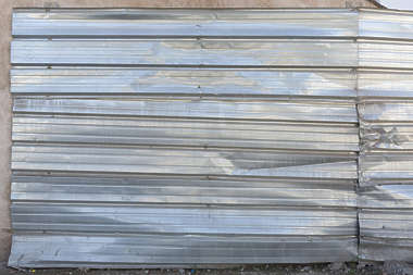 metal bare fence plates plate corrugated morocco