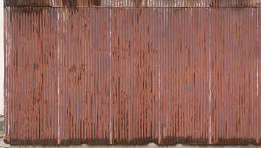 metal corrugated rusted weathered corrosion plate plates