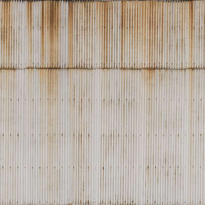 metal corrugated plates plate rusted leaking weathered corrosion