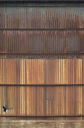 metal plates plate rust rusted wall