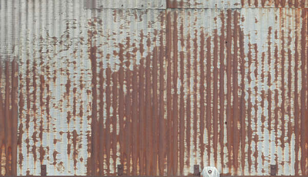 Metal Plates Rusted Rust Old
