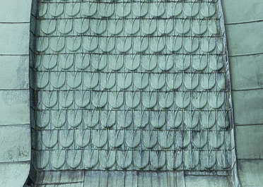 rooftiles metal zinc copper