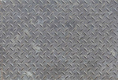 metal floor threadplate