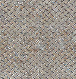 treadplate threadplate tearplate metal bare rust paint