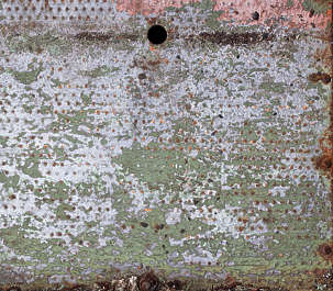 floor metal paint dirty old worn threadplate tearplate
