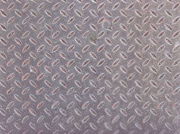 treadplate threadplate tearplate metal bare