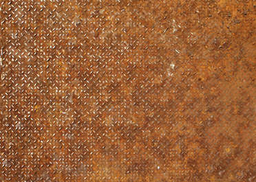 rust threadplate floor tearplate treadplate