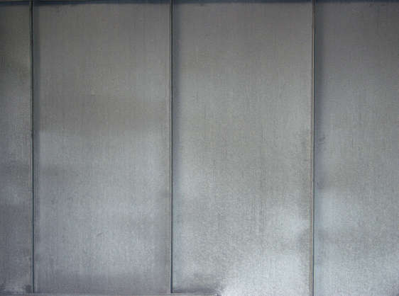 metal galvanized seam