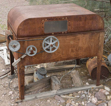 USA nelson ghost town ghosttown machine old rusted