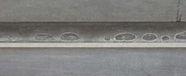 metal plate rollup seam
