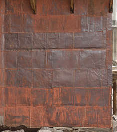 USA Bodie ghosttown ghost town old western goldrush desert arid metal plates rusted bodie_003