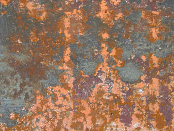 metal paint rust floor