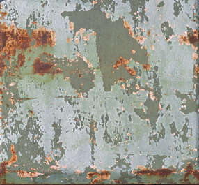 metal paint worn old rust