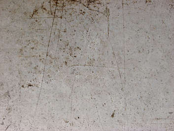 metal bare rust spots scratches