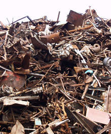 scrap scrapyard mountain trash scrapmetal metal rust recycle