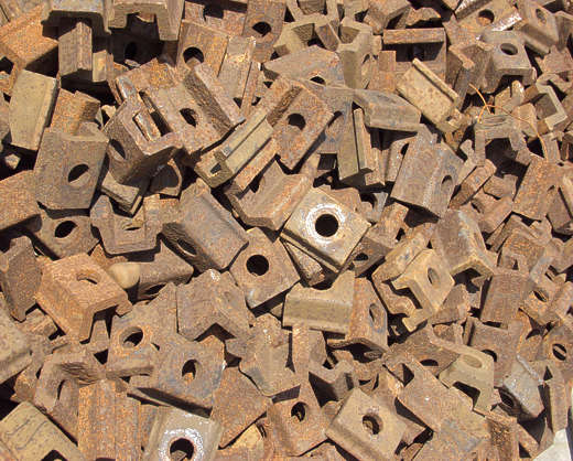 scrap scrapyard metal rust