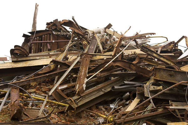 metal heap stack beam beams scrap scrapmetal