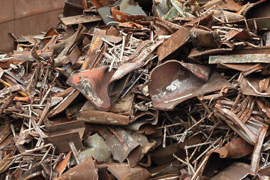 metal heap scrap scrapmetal