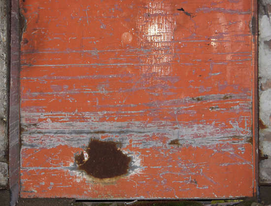 metal paint scratches worn