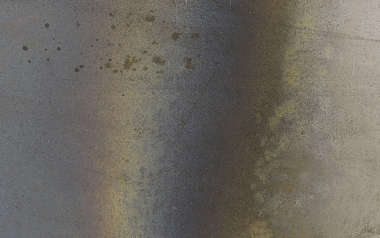 metal steel heat discoloration gradient edge
