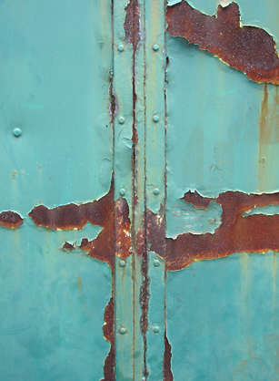 metal paint seam rust