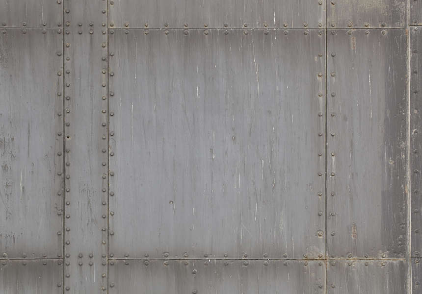 Metalrivets0046 Free Background Texture Metal Plates Blast Door Bunker Rivet Rivets Dark Light Gray Grey Desaturated