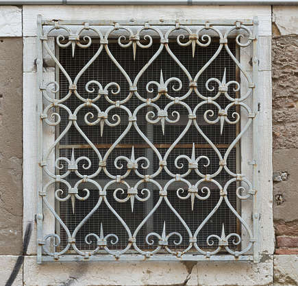venice italy window metal
