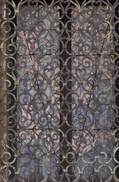 venice italy window metal grate old rusted
