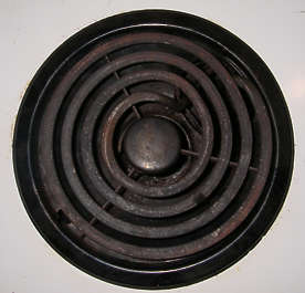 cooker heater cooking plate spiral
