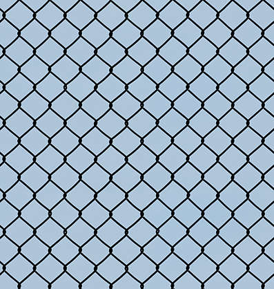 Metal Chain Fence Texture