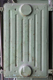 metal plates radiator heating heater old