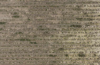 aerial farmland farm sand earth dirt empty weeds weed
