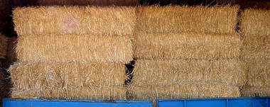 hay straw bale bales