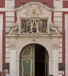 ornament ornate arch archway