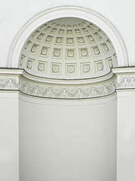 ornament arch round circle