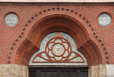 arch brick ornate