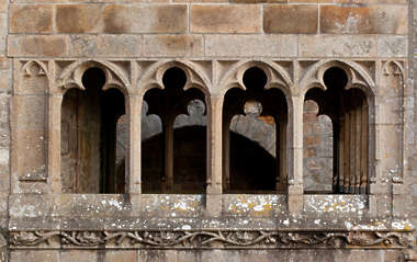 ornament arches arch windows window medieval