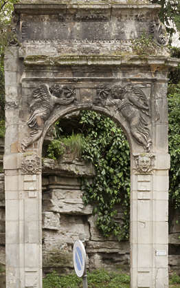 old ornate archway arch