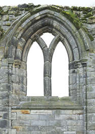 brick medieval window arch cathedral church castle UK