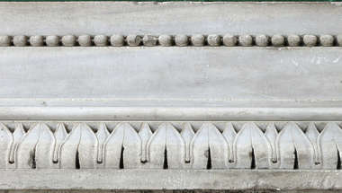 ornament border stone
