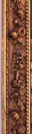 border ornament picture frame ornate wood carving