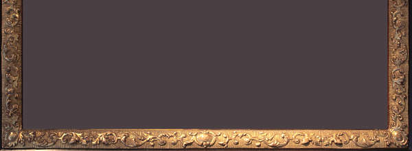 border ornament picture frame ornate wood gilded gold