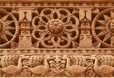 india ornament trim border stone