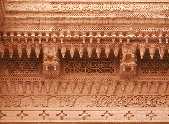india ornament border trim ornate