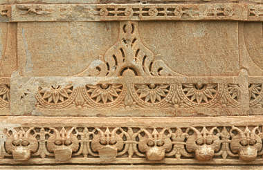 india ornament border trim stone carving