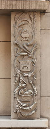 ornament border stone carving