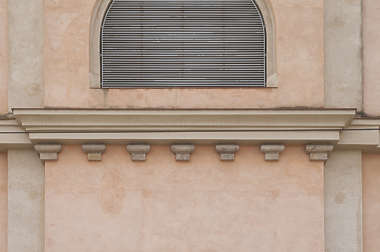 cornice ledge ornate facade