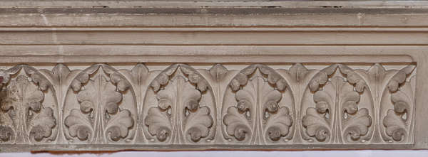 ornate ornament border cornice old relief